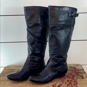 Steve Madden Leather Craave Boots- Sz 7.5
